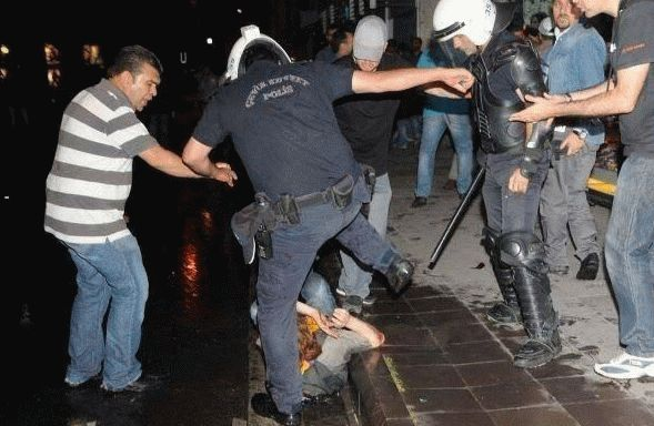 erdogan svoloch gezi taksim