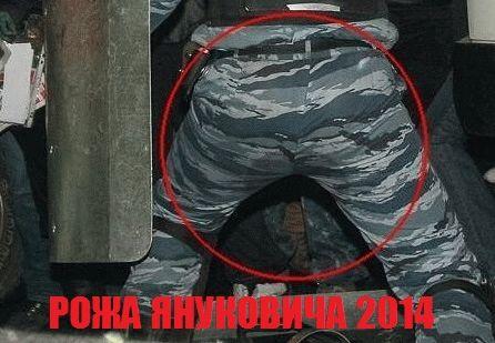 face of ynikovich 2014