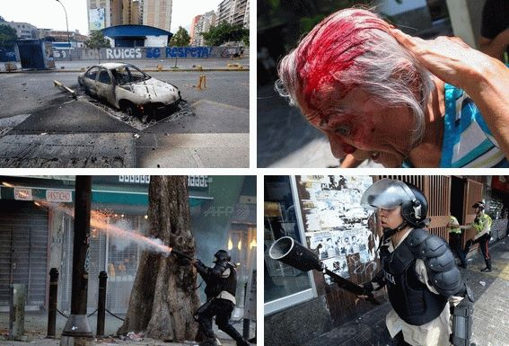 venezuela protest live stream