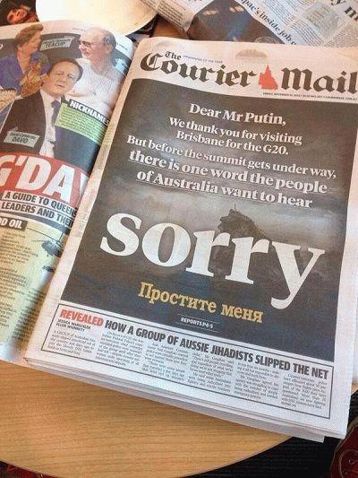australia press putin