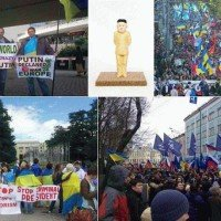 putler un 2015 protest ukraine siria war