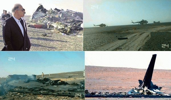 russian samolet egypt katastrofa 2015