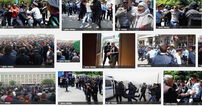 kazakstan protest 2016